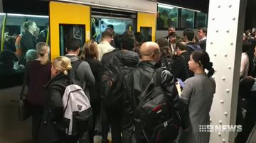 Commuter chaos after 122 call in sick on Monday