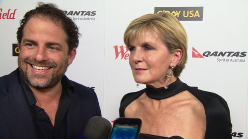 Ms Bishop spoke to 9NEWS while attending an event in Los Angeles last year. (9NEWS)