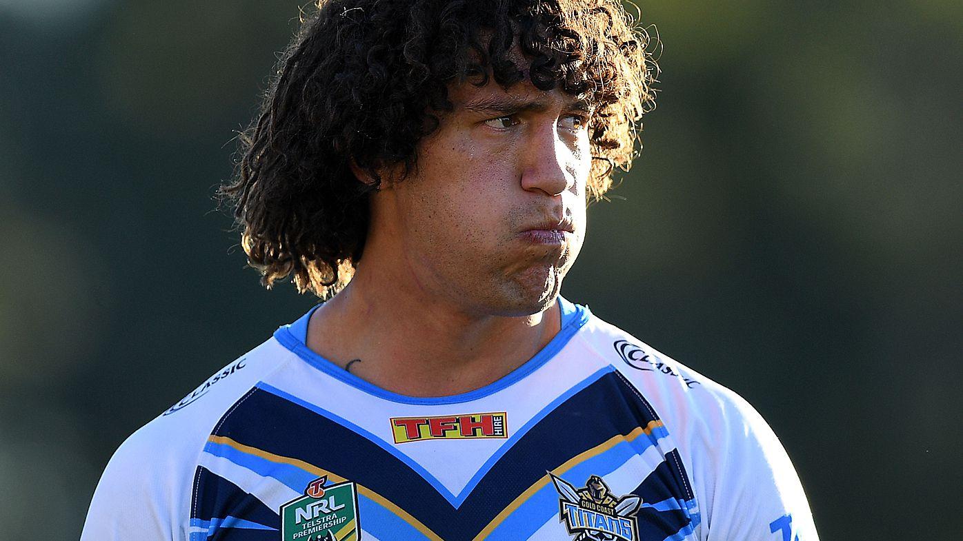 NRL: Gold Coast Titans forward Kevin Proctor recalls frightening throat injury