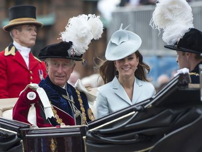 Prince Charles and Kate Middleton, 2011