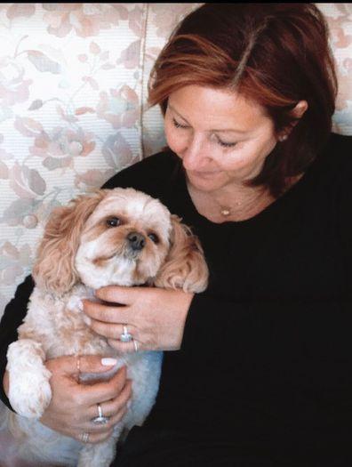 Cancer Karina Stell Life Interrupted book dog