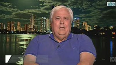 'I'm free to say what I want to' Clive Palmer's fiery TV interview after liquidators freeze assets