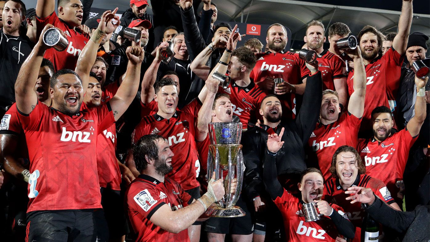 Crusaders clinch ninth Super Rugby crown with win over Lions