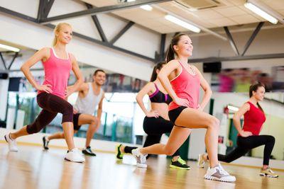 10-15 minutes of aerobics