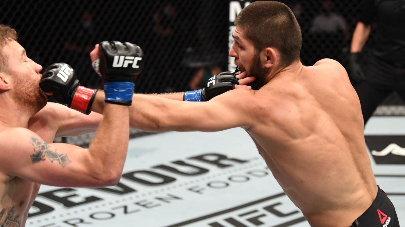 UFC icon Khabib Nurmagomedov chose triangle choke so he didn't hurt Justin Gaethje