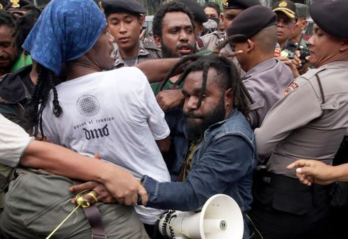 Frequent protests calling for West Papua independence have been held throughout Indonesia such as this one in 2016.
