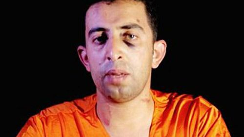 Lieutenant Muath al-Kaseasbeh appeared to have abused in captivity prior to his execution.