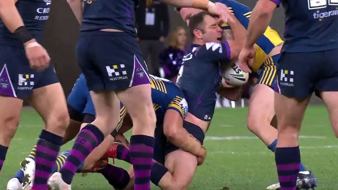 'If he's out they can't win the comp': Andrew Johns' dire forecast for Melbourne Storm
