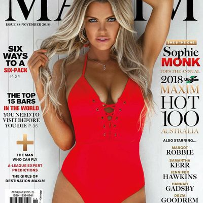 Sophie Monk tops Maxim Hot 100