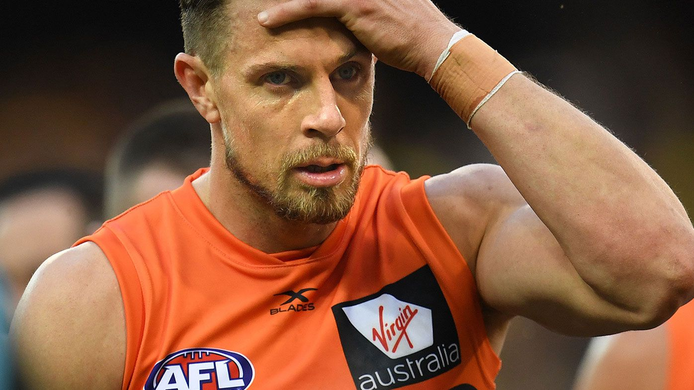 Brett Deledio injured