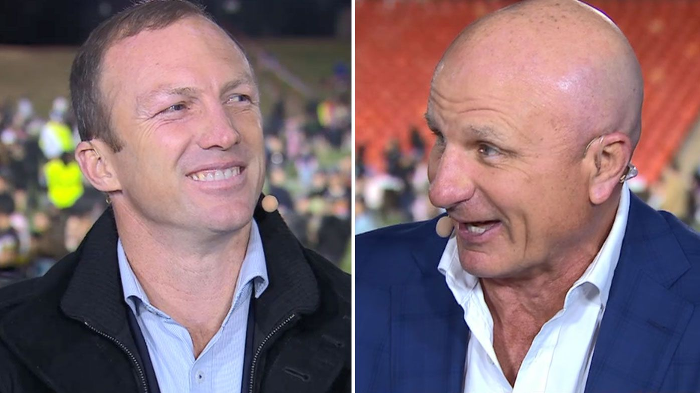 Darren Lockyer and Peter Sterling