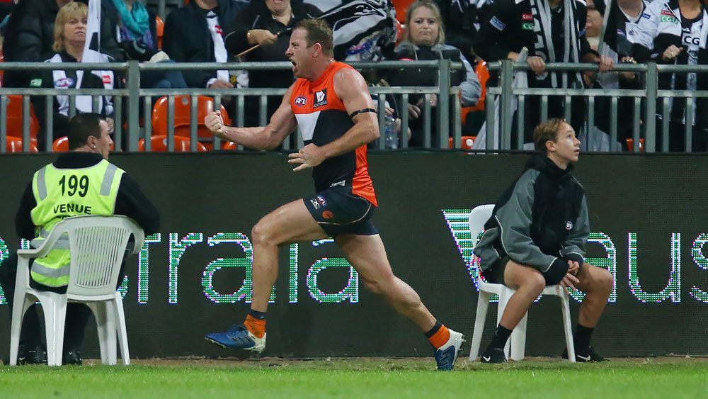 Stevie J kicks winner, GWS pip Pies in AFL