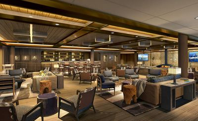 Seabourn Venture: Expedition Lounge rendering