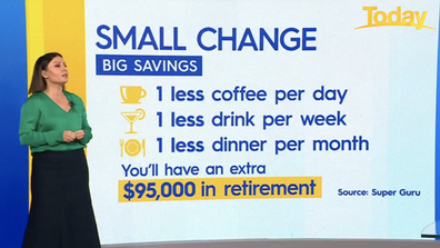 Sacrificing one coffee a day could save you big bucks.