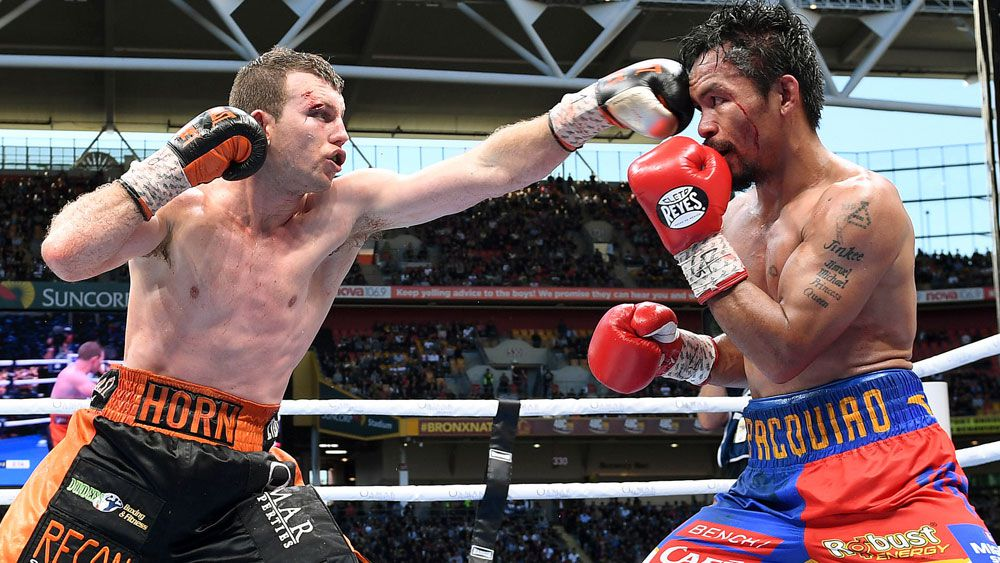 Horn assured of Pacman rematch in Brisbane