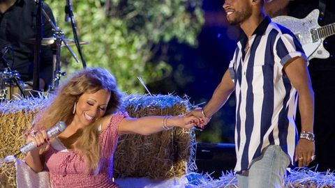 Mariah Carey and Miguel