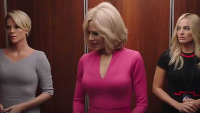 Charlize Theron, Nicole Kidman, and Margot Robbie in Bombshell