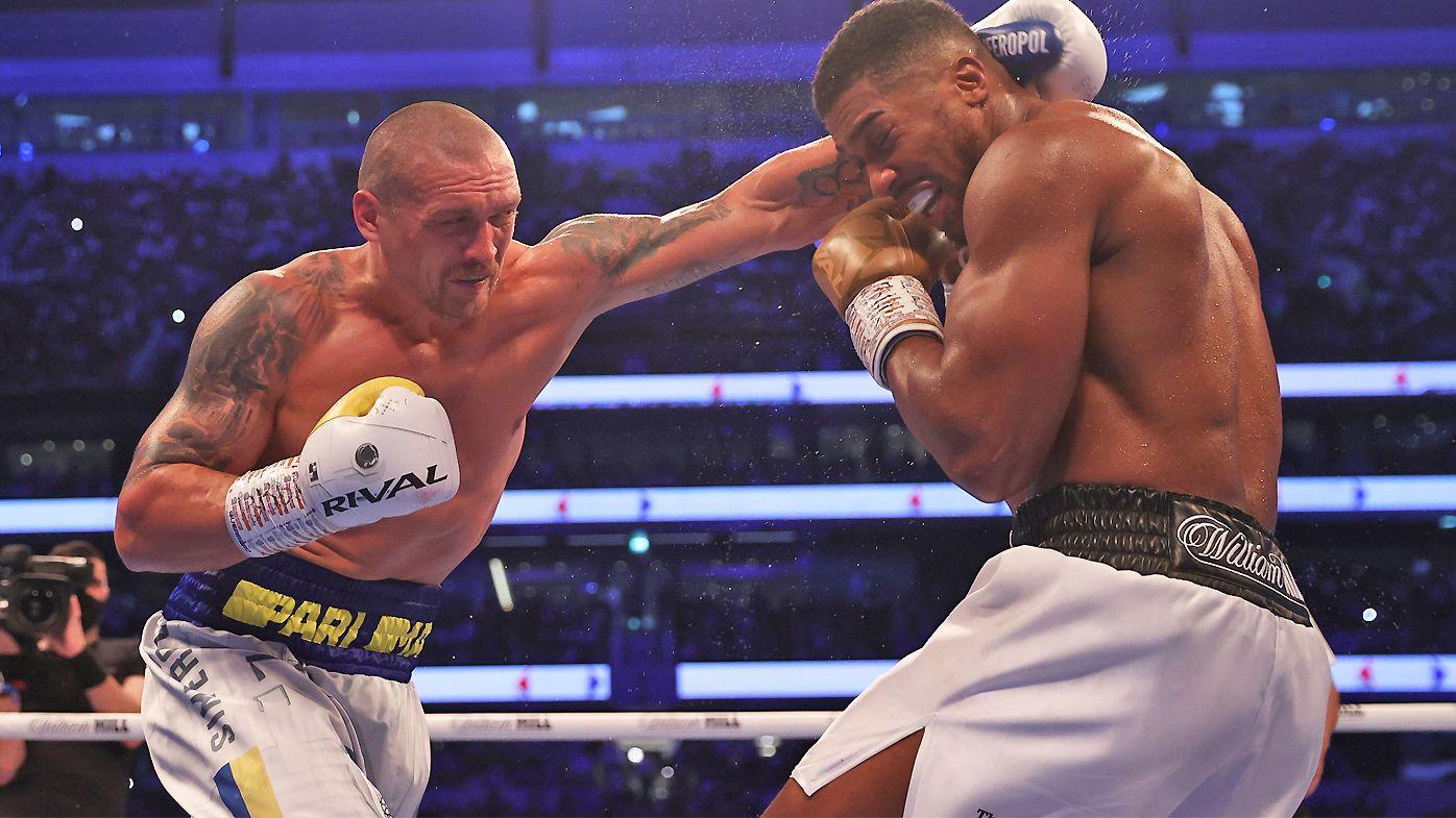 Anthony Joshua clings to Tyson Fury showdown hope despite defeat to Oleksandr Usyk