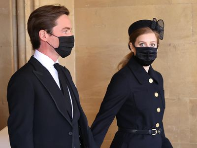 Prince Philip's funeral, April 2021