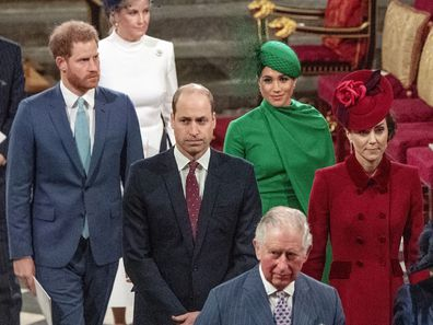Prince Charles and Harry title