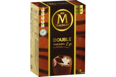 Magnum Ego Caramel: 33.2g sugar — more than 8 teaspoons