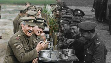 Peter Jackson magic brings colour to WW2