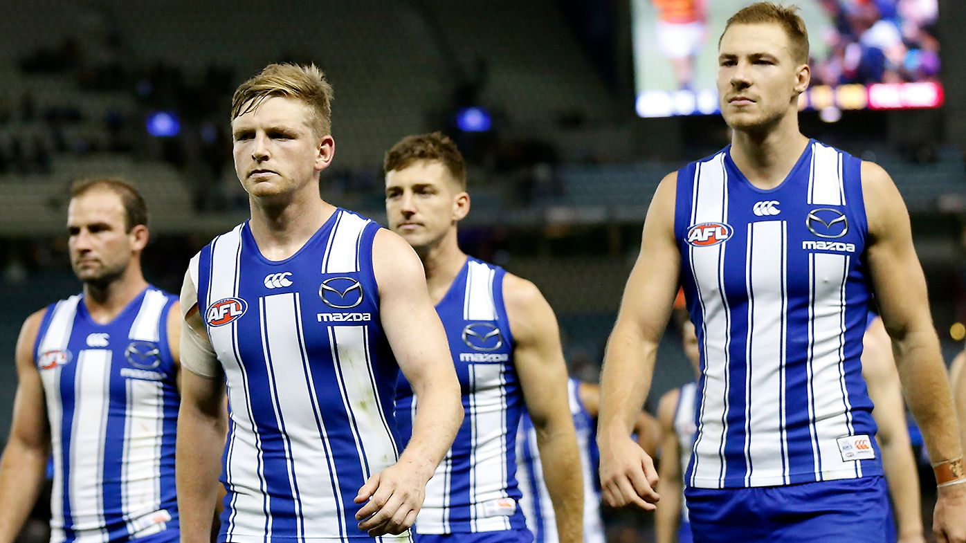 Former North Melbourne defender Troy Makepeace hits out at relocation rumours