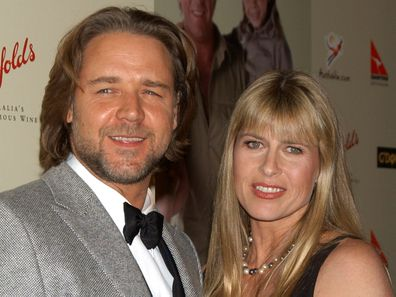 Russell Crowe and Terri Irwin