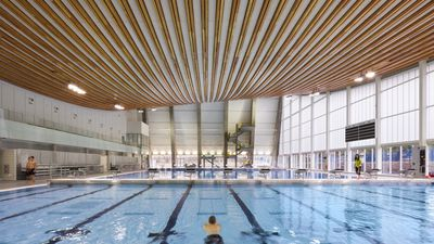 Grandview Heights Aquatic Centre by HCMA Architecture + Design, Canada.