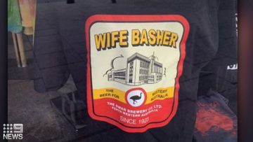 A WA clothing shop is refusing to stop selling a 'Wife Basher' t-shirt, despite angry backlash over concerns it glorifies domestic violence.
