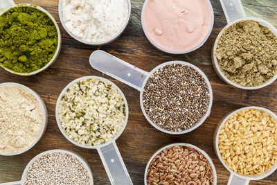 <strong>Pea protein isn't as good as whey protein</strong>