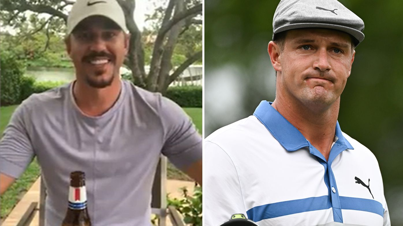 Brooks Koepka fuels Bryson DeChambeau feud with free beer offer for 'Brooksy' hecklers