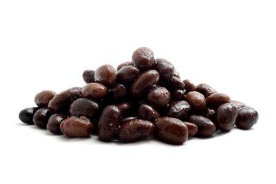 Black beans: 1/2 cup has 20g carbs, 8g fibre, 114 calories