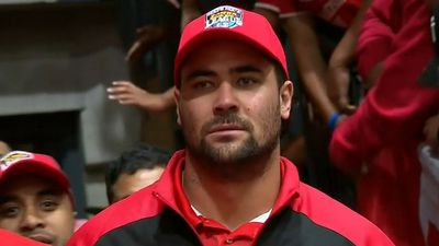 Cronulla Sharks pay tribute to Andrew Fifita's selection for Tonga