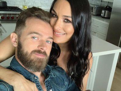 Nikki Bella and fiance Artem Chigvintsev