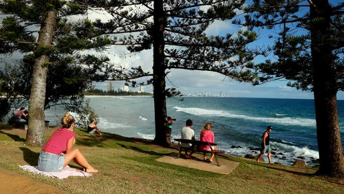 Burleigh Heads. Probably the most Instagrammed place on the Gold Coast.