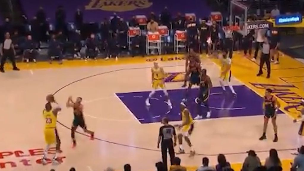 LeBron James hits epic game-winner to pilot Lakers past Warriors and into NBA playoffs