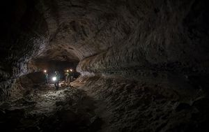 Lava tubes on the moon and Mars are 1000 times wider than those on earth, a new study reveals