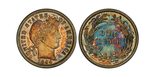 A Utah businessman paid $1.32 million for a dime last week at a Chicago coin auction.