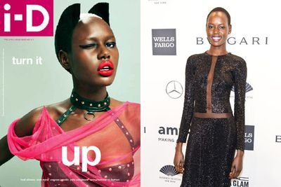 Melbourne-based model Ajak Deng fled Sudan aged 12. Now aged 24, the striking beauty has worked for Marc Jacobs, Louis Vuitton, Valentino, Givenchy, Topshop, Banana Republic and Calvin Klein.<br/><br/>She's appeared on the covers of <i>i-d</i> (see left) and <i>Vogue Italia</i> and walked Paris Fashion Week earlier this year. Ajak counts Shanina Shaik among her Aussie model BFFs.