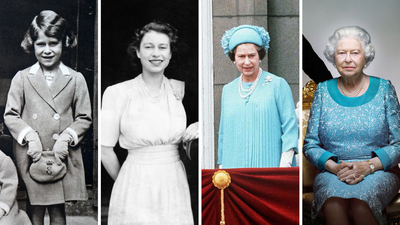 Her Majesty the Queen throughout the years