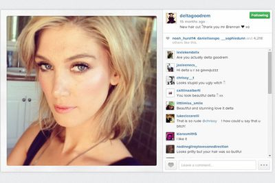 @deltagoodrem: New haircut. Thank you Mr Brennan <3 xo.
