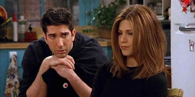 Friends couple Ross and Rachel's breakup voted by fans as saddest in TV history.