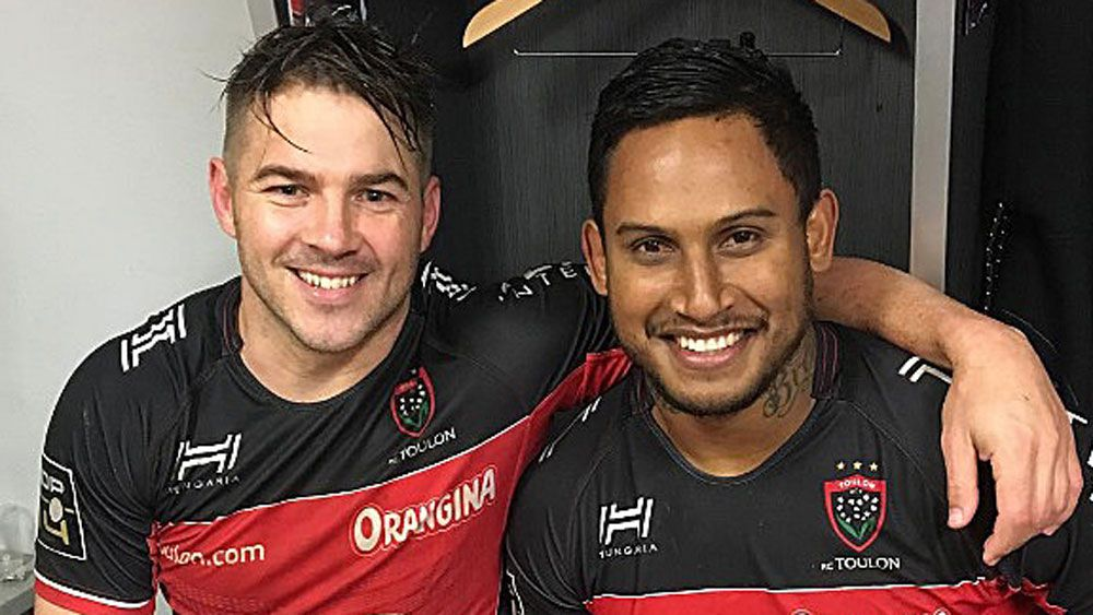 Barba makes French rugby debut for Toulon