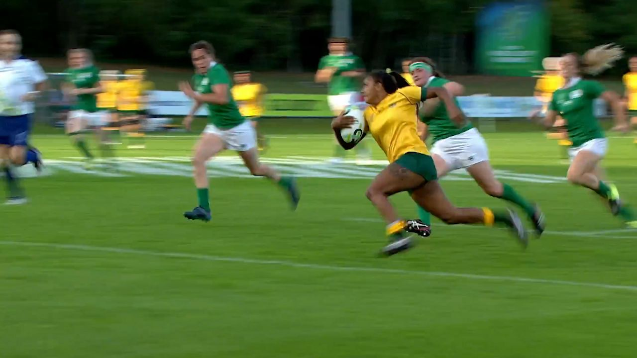 Wallaroos go down to Ireland in World Cup opener