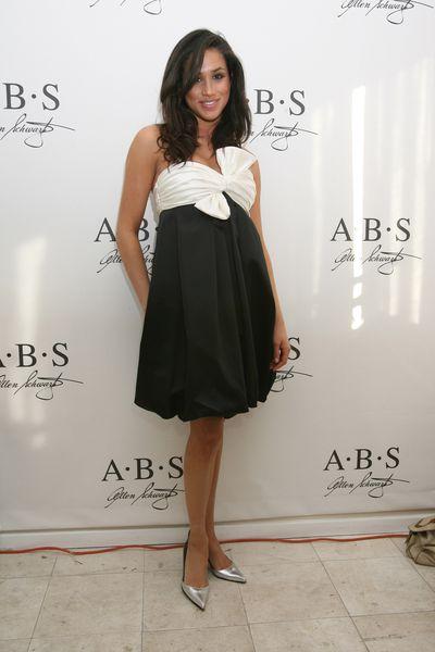 Meghan Markle at the ABS/Allen Schwartz Golden Globe Suites in Los Angeles in 2007