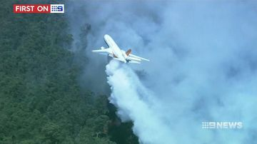 VIDEO: Bushfire air tanker boost for NSW firefighters