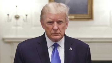 Donald Trump posted a video filmed in the White House before going to hospital.