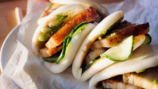 <strong>Momofuku's steamed buns</strong>