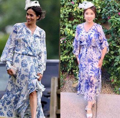 Chanelling Meghan Markle's Oscar de la Renta gown from June